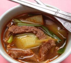 How to Make Korean Radish &amp; Beef Soup Muguk