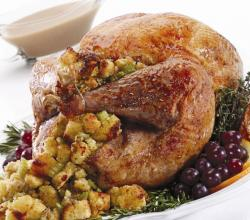 Turkey with Cornbread Stuffing