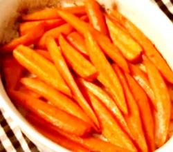 5 Spice Roasted Carrots