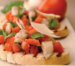 Pickled Herring Bruschetta