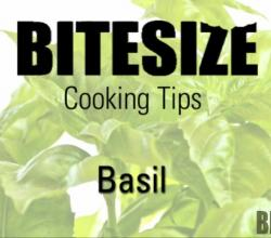 Tips To Use Basil