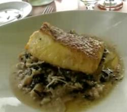 An Indian Style Halibut At Wilson Restaurant
