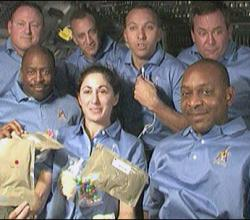 Thanksgiving dinner for Astronauts on Turkey day!