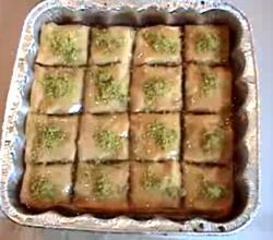 Homemade Baklava Part 2 - Making