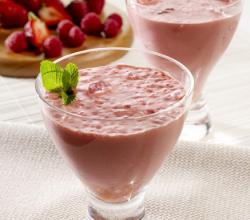 Winter Berry Yogurt Drink