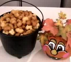 How To Make Caramel Popcorn/Puffcorn Video