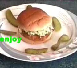 Easy Chicken Burger