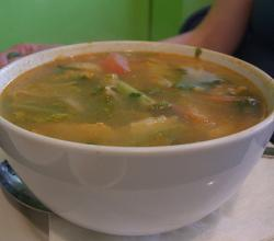 Somlor Curry Siche Moan - Cambodian Chicken Curry Soup