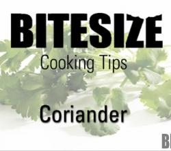 How To Cook Coriander