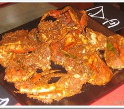 Indian Crab Dry Curry