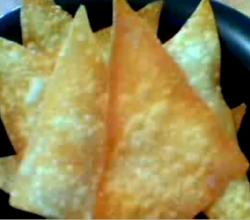 Crispy Fried Wonton Chips