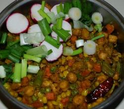Chickpea Vegetable Mix