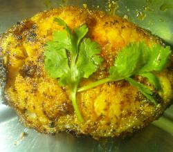 Fish coconut chilly fry