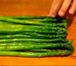 Fresh Asparagus Side
