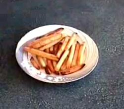 Crispy Frozen French Fries