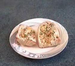 Garlic Cheese Topped Bread