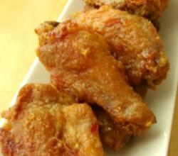 Sticky Ginger Garlic Oven Fried Chicken Wings