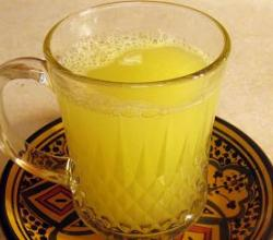 Moroccan Sweet Ginger Juice