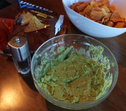 Guacamole Dip featuring Phil