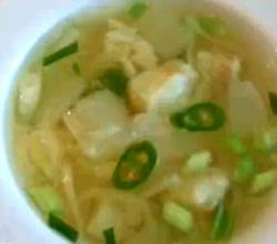 Korean Food: Korean Style Haddock Soup (동태국)