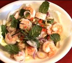 Easy Thai Shrimps Salad