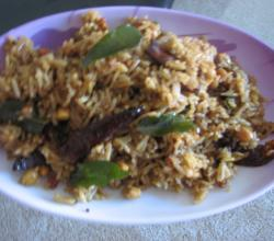 Tamarind rice (easy)