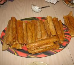 Pizza Beer Tamales