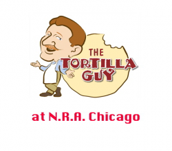 The Tortilla Guy at The National Restaurant Association in  Chicago