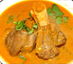 Spicy Lamb Shank Curry