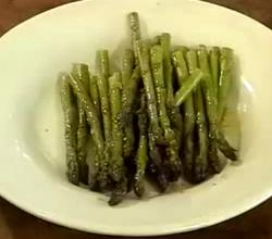 Quick Lemon Roasted Asparagus