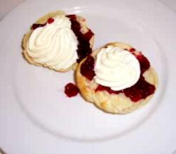 Jammy Lemonade Scones