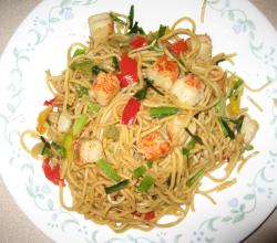 Chinese Noodles with Lobster