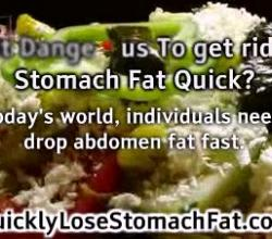 Is It Dangerous To Get Rid Of Stomach Fat Quick
