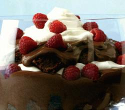 Layered Chocolate Bowl