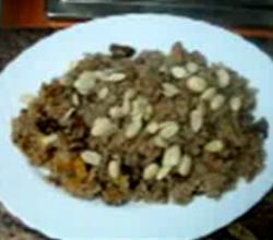 Dry Fruit And Walnut Rice
