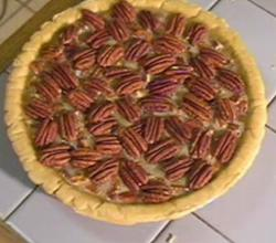 Pecan Pie with Caramel
