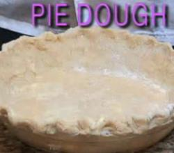 Homemade Pie Dough