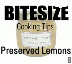 All About Preserved Lemons