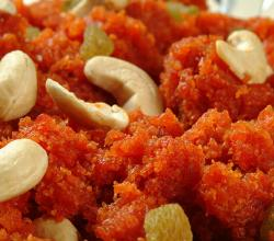 Red Carrot Cashew Halwa