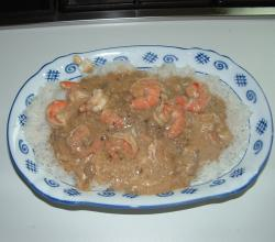 Shrimp in Lobster Sauce