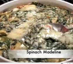 Artichoke And Spinach Madeline