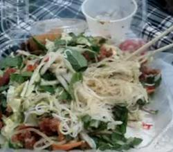 Tossed Cold Noodle Salad