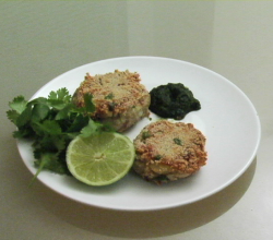 Tuna And Potato Cutlet