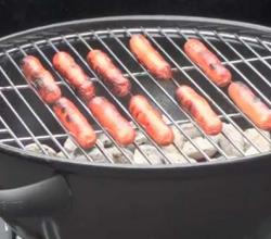 Grilling Turkey Hot Dogs