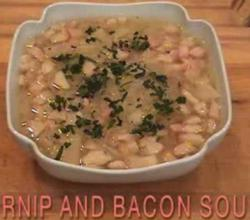 Irish Turnip And Bacon Soup