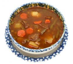 Vegetable Beef Soup with Barley