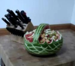 How To Make Watermelon Basket