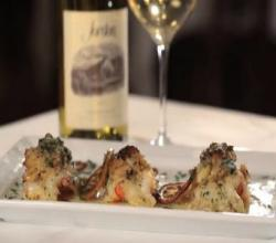 A Perfect Pairing: Smith & Wollensky Stuffed Jumbo Shrimp and Jordan Chardonnay