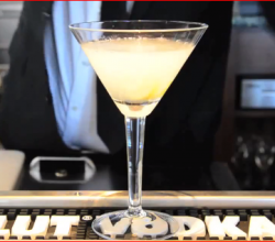 Absolut Tea Party Martini