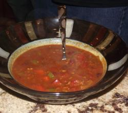 Absolute Vengeance Meatless Metal Chili
